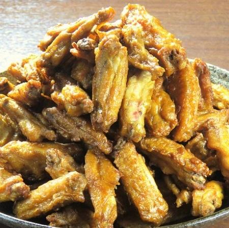 田町の鶏料理専門店[とりいちず]の絶品手羽唐