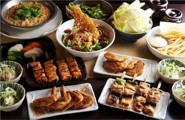 とりいちず酒場 田町慶応仲通り店の食べ飲み放題コース